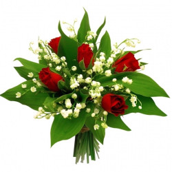 TENDER MUGUET BOUQUET