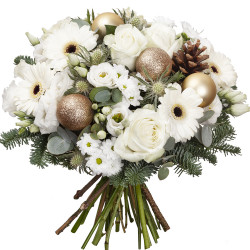 BOUQUET FOR CHRISTMAS - CHAMPAGNE
