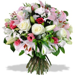 FLOWERS BOUQUET FRAMBOISINE