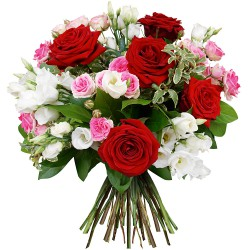 FLOWERS BOUQUET ROMANTICA