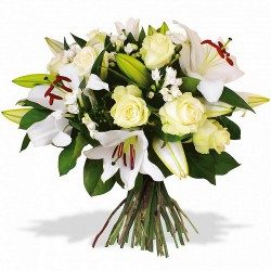 FLOWERS BOUQUET CUPIDON