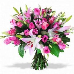 WEDDING FLOWERS BOUQUET D'AMOUR ROSE