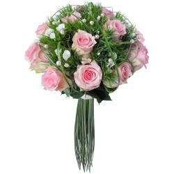 WEDDING FLOWERS BOUQUET PERLE DE ROSES