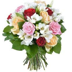 FLOWERS BOUQUET ROSES ÉTINCELLES