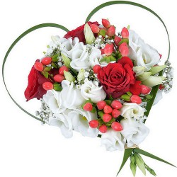 FLOWERS BOUQUET JE T'AIME