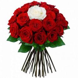 FLOWERS BOUQUET ROSES D'AMOUR