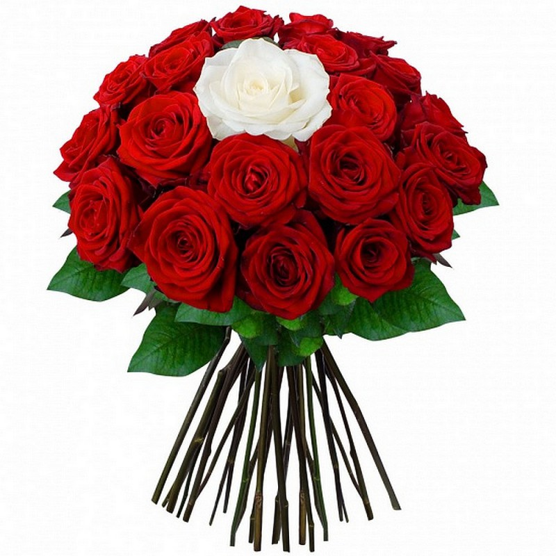 FLOWERS BOUQUET ROSES D'AMOUR