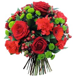 FLOWERS BOUQUET MILLE BISOUS