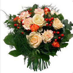 BOUQUET DE ROSES TENDRESSE