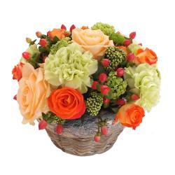 FLOWERS COMPOSITION NOUGATINE