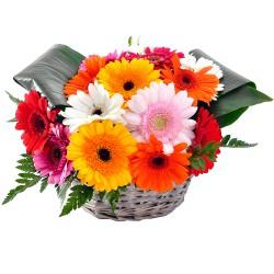 FLOWERS COMPOSITION SOLEIL AU COEUR