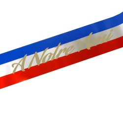 TR RED BLUE WHITE RIBBON