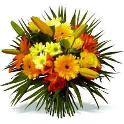 DOM-COM FLOWERS BOUQUET PAPEETE