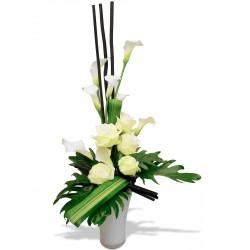 DOM-EXO FLOWERS BOUQUET TOTEM