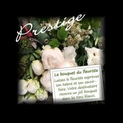 LUXURY FLORIST BOUQUET - WHITE FLOWERS