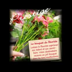 BOUQUET PRESTIGE DU FLEURISTE - MULTICOLORE