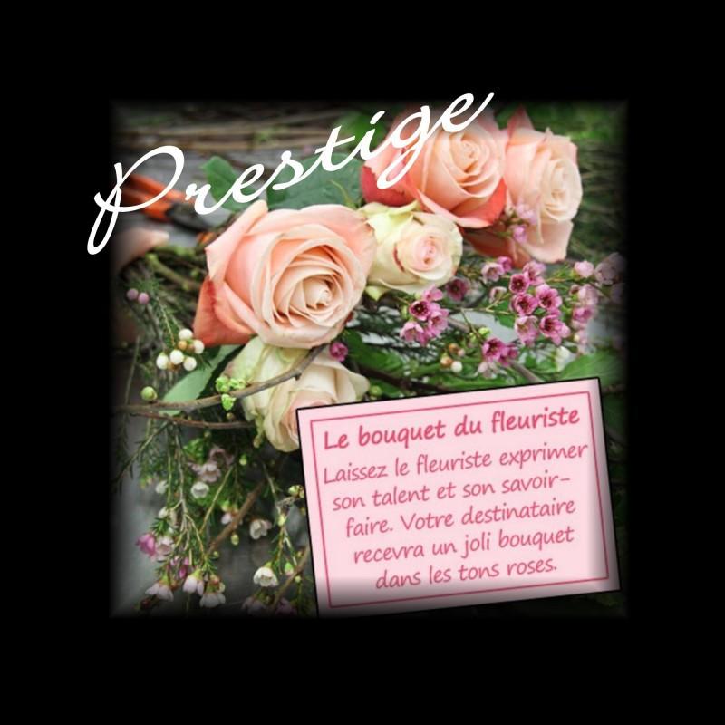 BOUQUET PRESTIGE DU FLEURISTE - ROSE