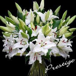 PRESTIGE LILI SYMPATHY FLOWERS BOUQUET