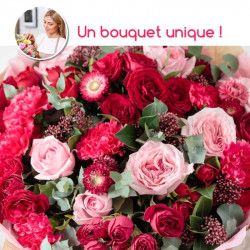FLORIST BOUQUET - RED FLOWERS