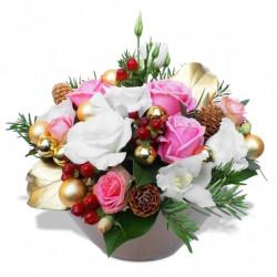 FLOWERS FOR CHRISTMAS - FESTIVE ARRANGEMENT
