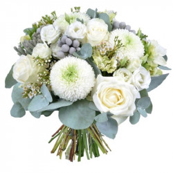 BOUQUET FOR CHRISTMAS - FROSTED