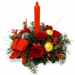 FLOWERS FOR CHRISTMAS - BRIGHT CHRISTMAS
