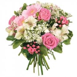 CORSICA FLOWERS BOUQUET LA VIE EN ROSE