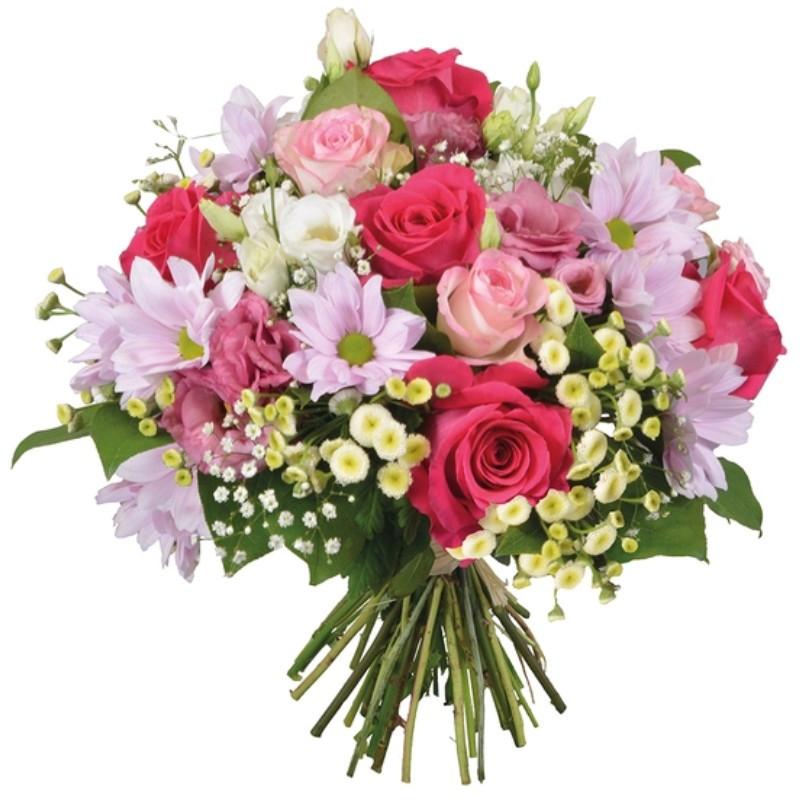 FLOWERS BOUQUET BONHEUR
