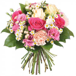 DOM-COM FLOWERS BOUQUET SENTIMENT
