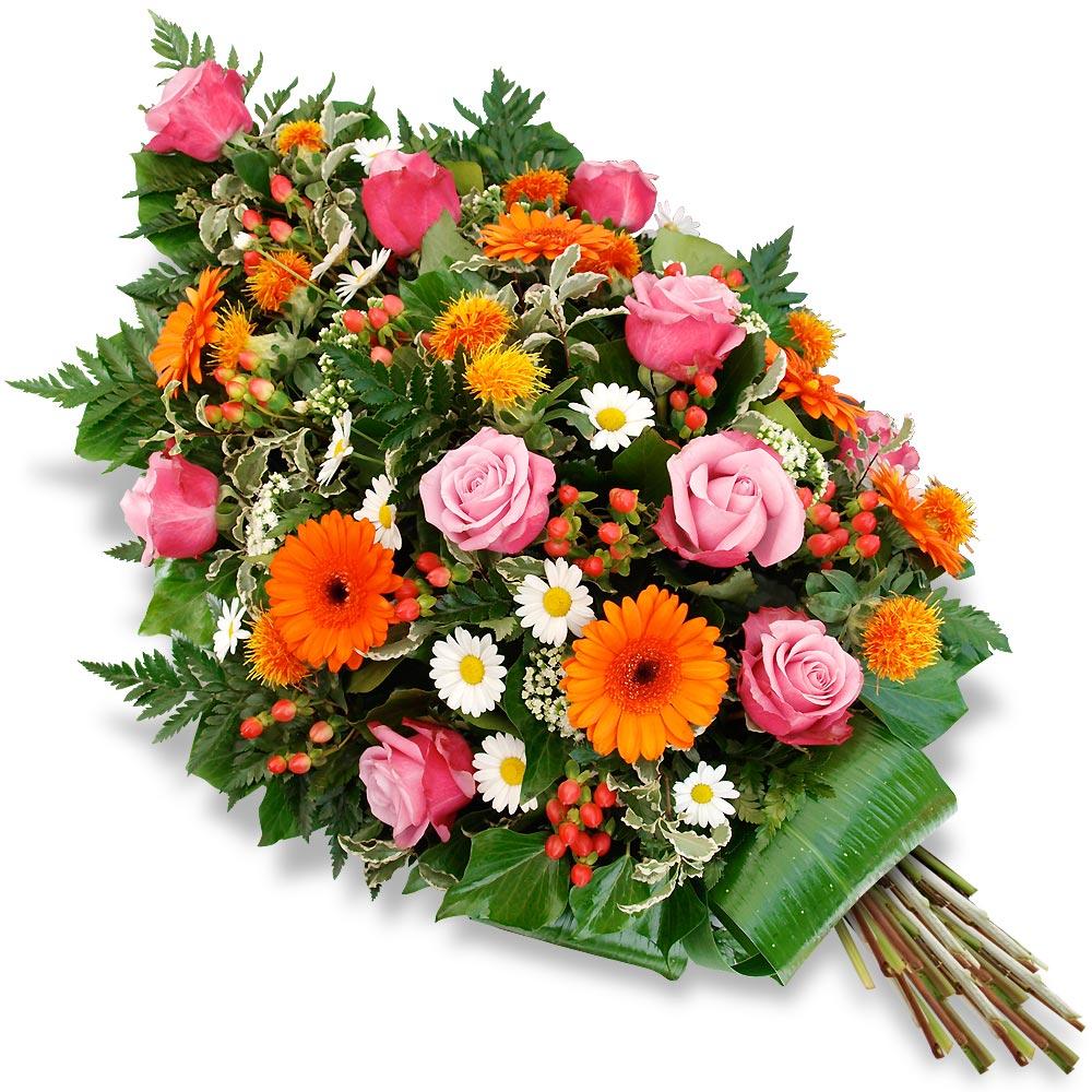 gerbe deuil fleurs deuil faire livrer des fleurs. Black Bedroom Furniture Sets. Home Design Ideas