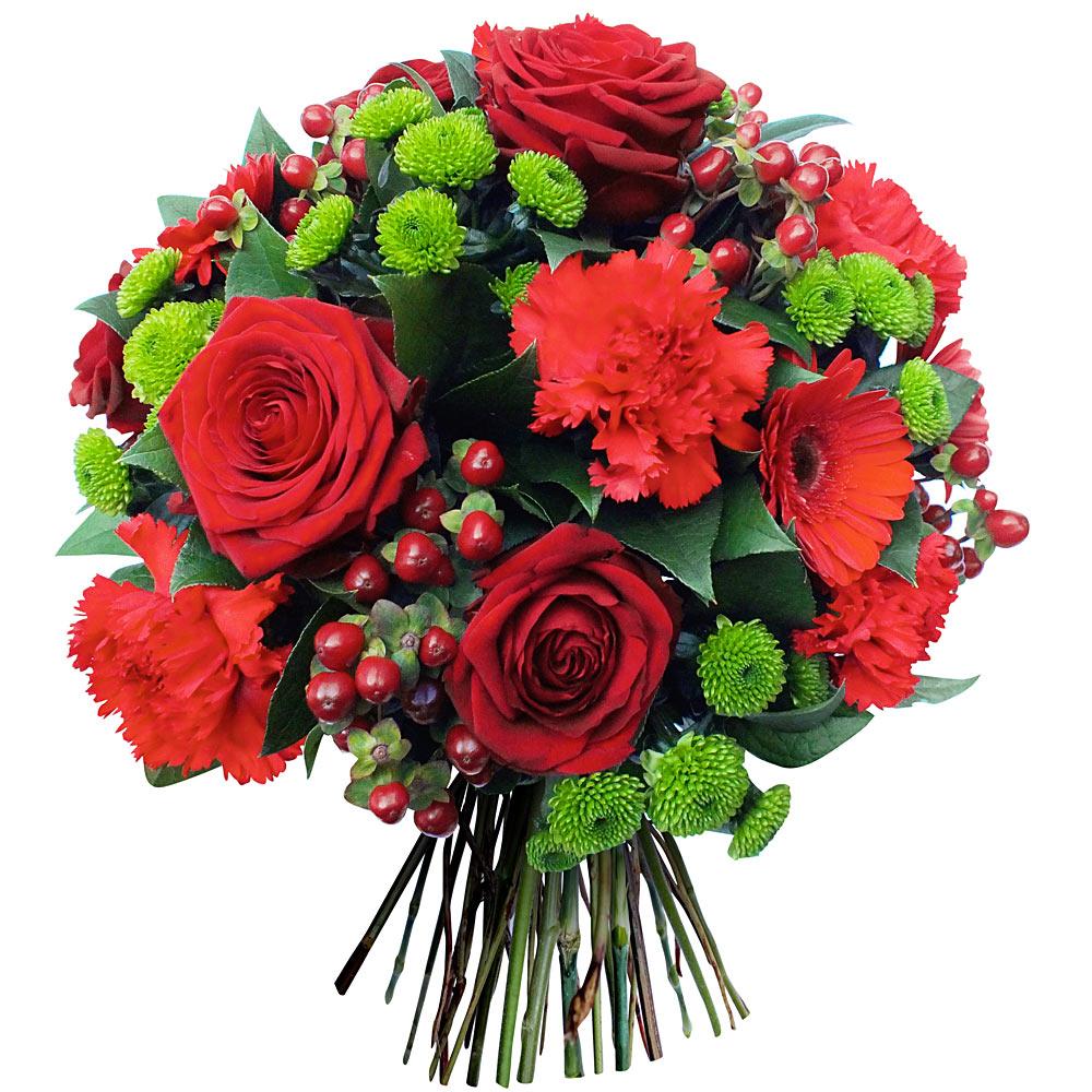 Bouquet fleurs anniversaire BRAINE