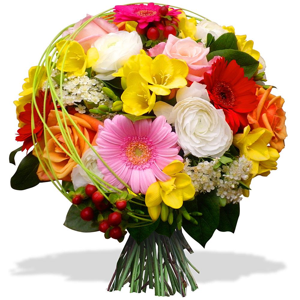 bouquet de fleurs pour un fete